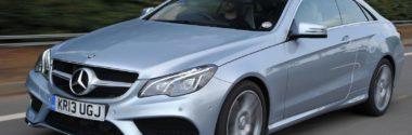 Замена тормозных колодок Mercedes E220