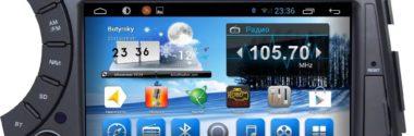 Android-магнитолы в штатное место