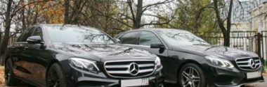 Прокат автомобиля с водителем для частных лиц