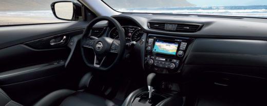 панель приборов Nissan X-Trail 2019