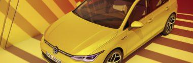 Новый Volkswagen Golf Mk8 2020